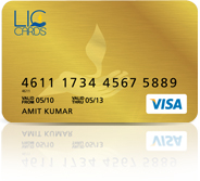 LIC Gold Credit Card