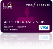 LIC Signature Credit Card